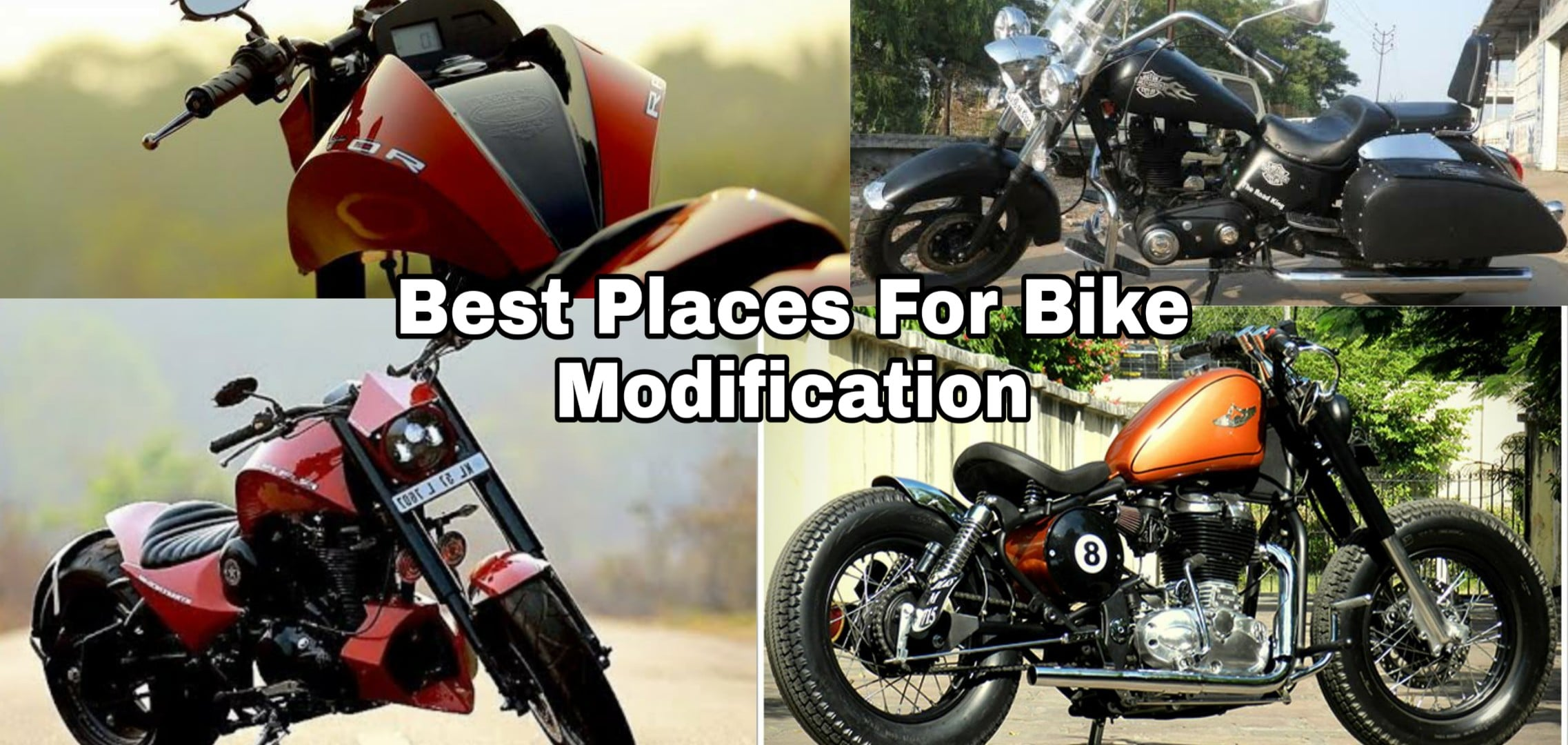Best Places in India to Modify Your Royal Enfield