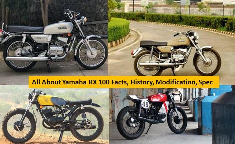 Yamaha RX100 Bike Price, Images, Specs, Mileage & History