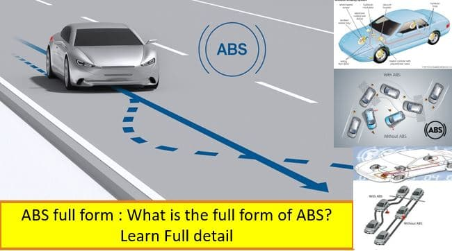 ABS full form , What is the full form of ABS